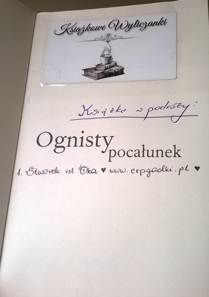 Book Tour Ognisty pocałunek